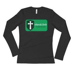 Ladies' Long Sleeve T-Shirt - JEHOVAH JIREH