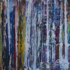 "Artist: Peter Bolhaar; Acrylic on canvas. ""No Name"""