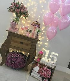New birthday party vintage table settings Ideas 15th Birthday, Birthday Parties, Baby Christmas Photos, Ideas Para Fiestas, Barbie, Birthday Photos, Vintage Table, Diy Party, Holidays And Events
