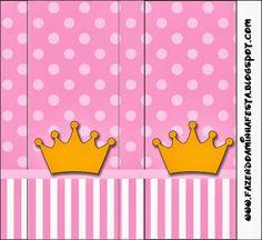 Etiquetas: coronas sobre fondo rosa.