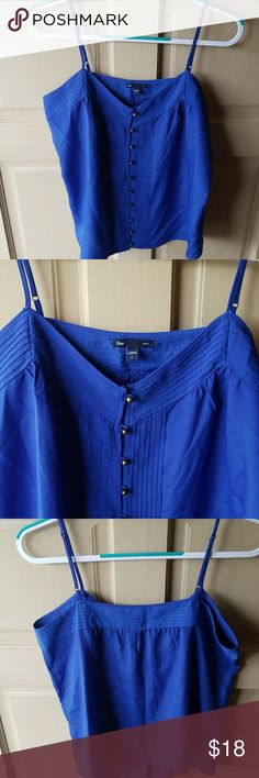 **2 for $20**NWOT Gap Dress Camisole Beautiful bright blue NEW never worn camisole GAP Tops Camisoles