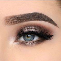 make up eyeshadow inspiration 32 Eye Makeup Art, Eye Makeup Tips, Makeup Goals, Skin Makeup, Makeup Inspo, Makeup Eyeshadow, Beauty Makeup, Makeup Ideas, Beautiful Eye Makeup