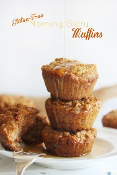Healthy Morning Glory Muffins from Lexi's Clean Kitchen @American Express #spon