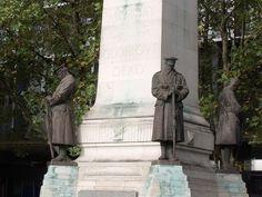 War Memorial outside Euston Station, London