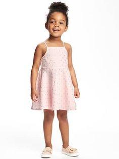 Sparkle Cami Dress for Toddler Girls