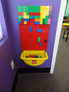 large lego on wall duplo - Google Search
