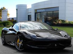 Used 2013 ( reg) Black Ferrari 458 for sale on RAC Cars