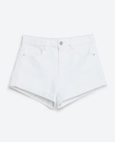 HIGH RISE DENIM SHORTS-SHORTS-WOMAN-COLLECTION AW16 | ZARA United States