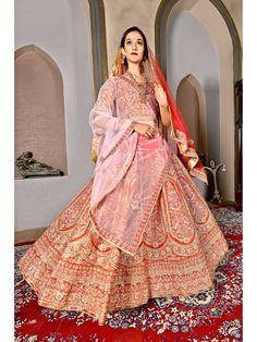 #lehenga #saree #lehengacholi #fashion #indianwedding #indianwear #ethnicwear #wedding #indianfashion #indianbride #bridallehenga #onlineshopping #kurti #lehengalove #bridalwear #weddingdress #designerlehenga #designer #lehengas #bridal #weddinglehenga Lehenga Suit, Bollywood Lehenga, Lehenga Blouse, Silk Lehenga, Silk Dupatta, Lehenga Choli Wedding, Indian Bridal Lehenga, Bridal Lehenga Online, Embroidered Silk