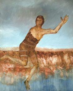 An image of Escaped convict by Sidney Nolan Australian Icons, Australian Artists, Sidney Nolan, Australian Painting, Abandoned Ships, Artist Profile, Autumn Art, New Media, Love Art