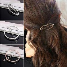 Gold Silver Round Wedding Bridal Hair Comb Hairpin Clip Barrette Hair Clip