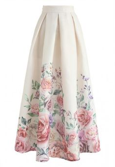 Cherry Blossom Watercolor Chiffon Maxi Skirt - BOTTOMS - Retro, Indie and Unique. - - Cherry Blossom Watercolor Chiffon Maxi Skirt – BOTTOMS – Retro, Indie and Unique Fashion Source by stefaniaspita Muslim Fashion, Modest Fashion, Fashion Dresses, Chiffon Maxi, Unique Fashion, Moda Retro, Alternative Mode, Long Skirt Outfits, Printed Maxi Skirts