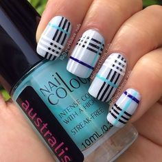 Burberry Nails - #ManicureMonday: The Best Nail Art of the Week