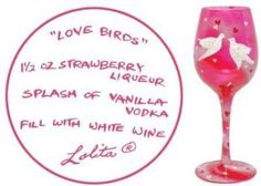 Lolita Wine Glass Valentine's Day