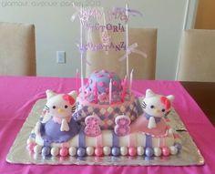 Hello Kitty  Spa & Beauty Themed Birthday Party Ideas | Photo 3 of 34