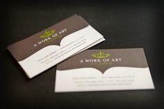 A Work of Art - Art Gallery Logo and Identity   Ciera Design   Brand Identity   Graphic Design