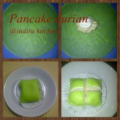 Pancake durians, hmm.... yummy