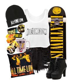 """All Time Low"" by neverland-is-just-a-dream-away ❤ liked on Polyvore featuring Deathwish"