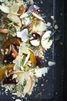 Lynn Crawford's quinoa salad with roasted squash, cashews and gouda salad--At Home with Lynn Crawford | on sale Sept. 2013!