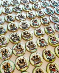 Painted gingerbread/Turta dulce pictata