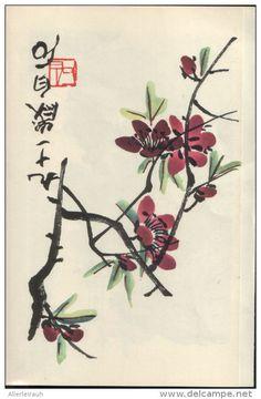 Pflanzen und Japanische Motive - Druck , entnommen aus Westermanns Monatshefte