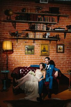 Romantic Los Angeles Wedding at Carondelet House   Photo by Marianne Wilson