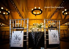 Reception Details | The Chateau Lake Tahoe