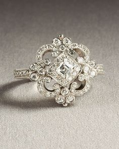 Dimond white gold