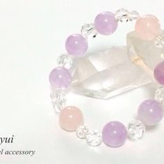 Crystal Healing, Pearl Earrings, Beaded Bracelets, Pearls, Crystals, Creema, Jewelry, Handmade, Fashion