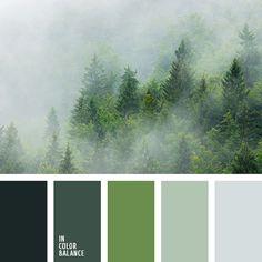 бело-серый цвет, болотный цвет, зеленый, оливковый, оттенки зеленого, оттенки серого, почти белый, светло-серый цвет, серый, темно серый, тёмно-зелёный, тёмный хаки, цвет бетона, цвет камня, цвет молодой зелени, цвет хаки.