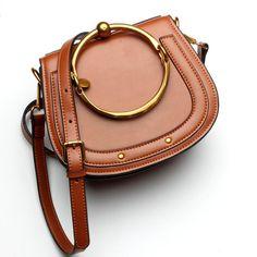 Inspired byHigh End Designer Nile Style Genuine Leather Saddle Messenger tote Shoulder Bag Leather Crossbody Bag, Leather Purses, Leather Handbags, Leather Bags, Crossbody Bags, Tote Bag, Saddle Handbags, Saddle Bags, Cheap Handbags