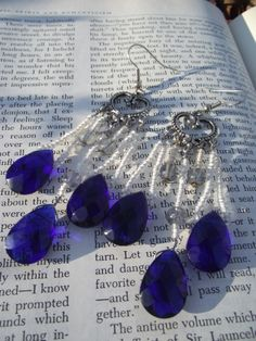 Buy me at https://www.etsy.com/listing/172724570/tears-of-the-heart-earrings?ref=related-6