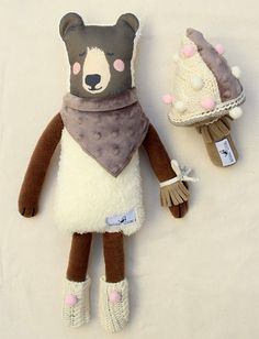 Let's cuddle these dressed animals from Natural Living!