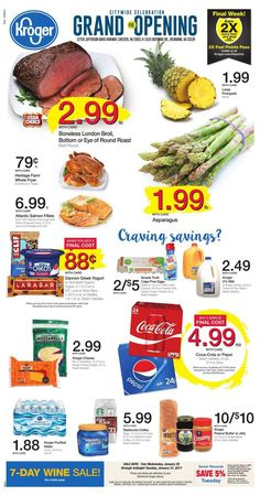 Kroger Weekly Ad Circular January 25 - 31 United States #Grocery #Food #Kroger