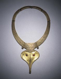 Necklace with pendant of Ganesha. Date: 19th century. India