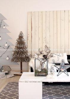 Wohnlust: Weihnachtliches Wohnzimmer