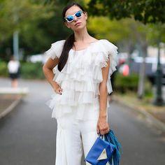 6 looks improváveis com calça branca