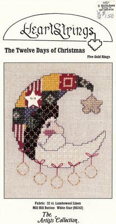 Cross-stitch Patchwork Santa Moon, part 1...    Gallery.ru / Фото #97 - 9 - uni4ka