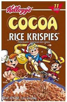 Cocoa Krispies, Rice Krispies, Cereal, Ads, Vegan, Friends, Breakfast, Food, Products