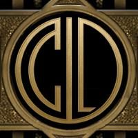 I created my own custom monogram with The Great Gatsby Monogram Maker. Speakeasy Party here we come!