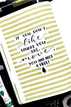 Bullet Journal Quotes, Bullet Journal Lettering Ideas, Bullet Journal Notebook, Bullet Journal Inspo, Bullet Journal Spread, Bullet Journal Ideas Pages, Bullet Journal Prompts, Motivacional Quotes, Doodle Quotes