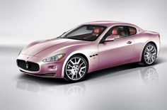 Pink Maserati. Never really liked pink cars....but I would so Drive this!!