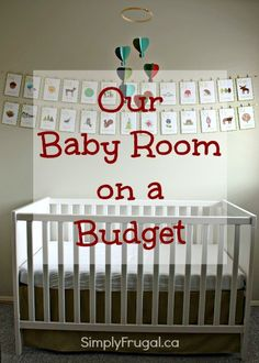 Our Baby Room On A Budget