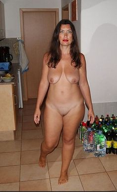 Thick nude older women