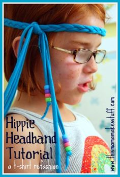 Fun Craft for kids using old T-shirts and pony beads.