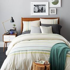 Playa Stripe Duvet Cover + Shams