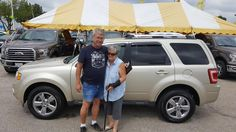 BARB AND JIM's new 2010 Ford Escape! Congratulations and best wishes from Kunes Country Ford Lincoln of Delavan and Daniel Ranson.