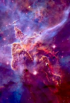Universe Astronomy ˚In the Carina Nebula - Cosmos, Space Planets, Space And Astronomy, Astronomy Facts, Digital Foto, Ciel Nocturne, Hubble Images, Hubble Pictures, Astronomy Pictures