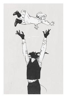 Sensei e Shiva Dark Art Illustrations, Illustration Art, Darkside Books, Character Art, Character Design, Ancient Magus Bride, Arte Obscura, Dark Fantasy Art, Shoujo