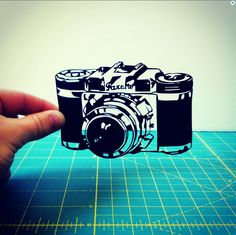 Get a customized papercut of any image from Art-Shelf.